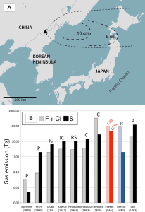 Map-showing-the-location-of-Paektu-volcano-and-associated-tephra-fallout-and-gas-yields